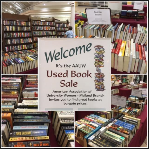aauw used book sales midland mi branch